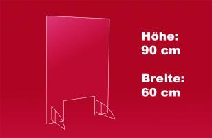 1. Nies- und Spuckschutz 60 x 90 cm